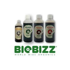 BIOBIZZ - BIO GROW, BLOOM AND TOP MAX 500ML AND ROOT JUICE 250ML
