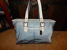 Coach Handbag Purse 6458 XL Tote Getaway Weekender Nylon Pond Blue Hampton Bag
