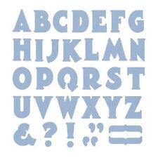 """Quickutz/Lifestyle Crafts DA0238 """"Manhattan Alphabet"""" 1 Cutting Die NEW"""
