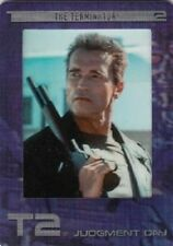 TERMINATOR  2 JUDGMENT DAY RARE CARD SET R1 TO R6    6 CARD SET