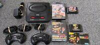 Sega Mega Drive II [2] Console & 2 Controllers Bundle! PAL, plus 2 games, tested