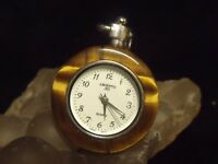 "VINTAGE ARGENTO LADIE'S STERLING 1 3/16"" PENDANT WATCH"