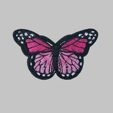 Patches Schmetterling NEU Aufbügeln Aufnähen Flicken Applikation DIY Bügelbild