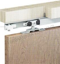 binario per porta scorrevole cm155 + accessori per una porta di 40kg
