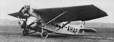 F-120 Farman France Bomber Airplane Desktop Kiln Dry Wood Model Free Shipping
