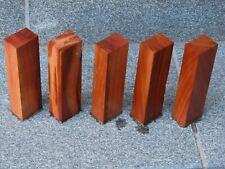 Messergriffblöcke aus Zwetschgenholz/Pflaumenholz Messergriff 5 Stück