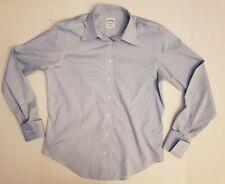 Brooks Brothers Women's Button Up Single Stitch Cufflinks Ready Shirt. Size 8.