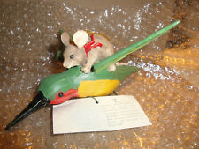 New ListingCharming Tails Hummingbird-Friends In Flight# 87071-Dean Griff- w/Tag*Rare*=New.