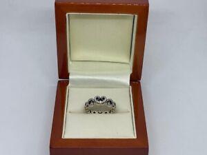 Pandora Heart Swirls Ring
