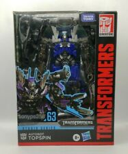 Transformers Studio Series #63 Autobot Topspin Deluxe 63 Nascar Wreckers Dotm