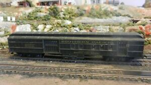 Athearn Vintage HO Southern Pacific Heavyweight RPO/Baggage Car, Exc.