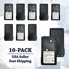 10x Kenwood Radio Battery Replacement 1800 Ni-Mh KNB-15/A/H TK260G TK2107 TK3100