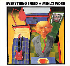 "MEN AT WORK ""EVERYTHING I NEED/Sail To You"" COLUMBIA 04929 (1985) 45 & PIC SLV"