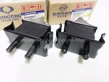 Engine Mount Insulator 2PC for Five-Cylinder Engine Ssangyong Istana #6612403517