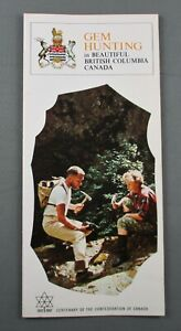 GEM HUNTING IN BEAUTIFUL BRITISH COLUMBIA CANADA (1967) SCARCE! (VG+)