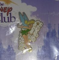 WDW Disney The Disney Club Member Exclusive Tinker Bell Collector Pin 2002