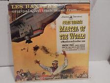 Les Baxter Master of the World Jules Verne Soundtrack 1961 Vee Jay Shrink EXC LP