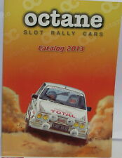 OCTANE SLOT RALLY CARS CATALOGO FOLLETO 2013 NUEVO