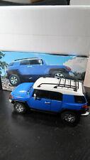 Autoart 2007 Toyota Blue FJ Cruiser Truck 4 X 4 1:18 Scale