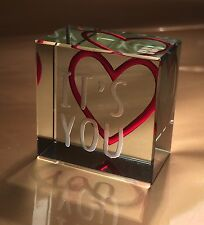Spaceform It's You Token Romantic Love Valentines Gift Ideas for Her & Him 1880