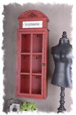 Vintage ropero caja para llaves inglesas cabina telefónica