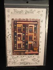 Main Street Usa by Meme's Quilts Quilt Pattern, 2001 never used