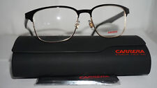 ce1b5d700715 Carrera RX Eyeglasses New Authentic Black Gold 138 V 807 54 17 150