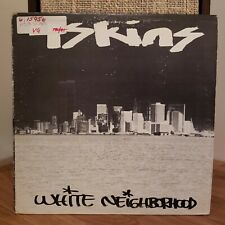 4 Skins Hardcore Punk New York White Neighborhood Beat Note 1981