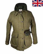 British UK Regents View Ladies Womens Tweed Jacket Teflon Coated Countrywear