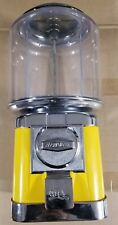 Beaver Rb16 Yellow Gumball Candy Nut Bulk Vending Machine - For Parts or Repair