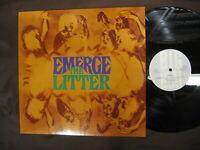"""LITTER """"Emerge The Litter"""" 1969 vinyl LP Psych German Big Beat reissue"""
