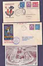 USA Olympics  Los Angeles FDC 1932 Two covers and Card