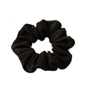 Elastic Hair Rubber Bands Soft Ribbed Cotton Scrunchie Hair Rope Ring Accessory
