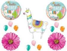 Llama Mama Baby Shower Girl Balloons Decoration Supplies Daisy