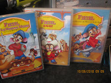 DVD FIEVEL GOES WEST AND MORE X3 DVDS 1 SEALED R2 MULTI LANGUAGE