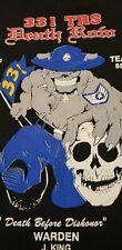 Vintage air force tshirt mens xl 331 squad Trs 1997 Black Redd Dawgs death row