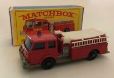 Lesney MatchBox # 29 Fire Pumper Truck w/Original Box