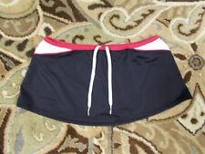 Nike Black/Multi-Color Swimsuit Skirt, sz 12