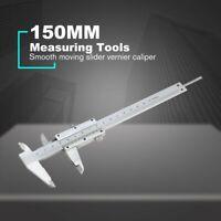 150MM Mini Gauge Measurement Stainless Steel Sliding Vernier Caliper Ruler 17