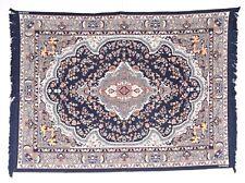 Kilim Carpet Chettiar Family 1970 Old Vintage Antique Home Decor X-35