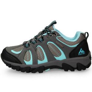 HIKABU Mint Damen Outdoor Trekking Wander Freizeit Schuhe Gummisohle Sneaker NEU