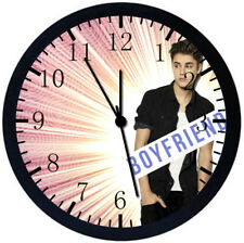 Justin Bieber Black Frame Wall Clock Nice For Gifts or Decor Z02