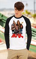 AC/DC Long Sleeve T-Shirt Rock Band TEE SHIRT TNT Baseball Raglan Top