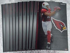 "Larry Fitzgerald 10 Fathead Arizona Cardinals NFL Decal Team Logo 7"" Tradables"