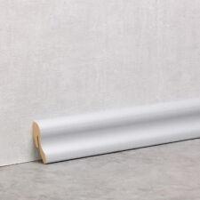 Silber Matt - Sockelleiste 40mm Classic