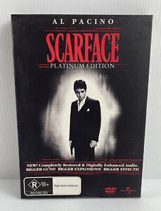 """""""SCARFACE"""" DVD R1 2-DISC PLATINUM ED DELUXE GIFT SET- Al Pacino, Oliver Stone"""