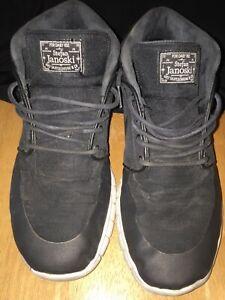 Nike Stefan Janoski Max Mid SB Skateboard Men's Shoes 807507-001 Sz 9 1/2