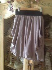 H&M Size 6 Military Shade Of Gray Skirt Bubble Fun Bounce Skirt