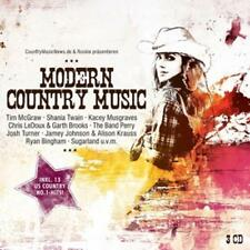 Modern Country Music von Various Artists (2013) - 3 CD - Box -