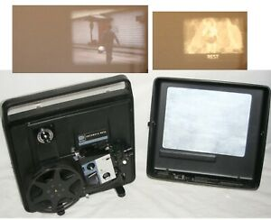 KODAK Instamatic M65A Movie Projector Dual 8 for 8mm or Super 8 Film Working VG